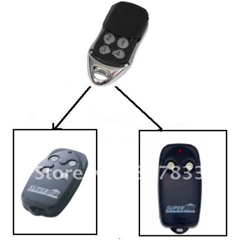New superlift remote control garage door opener transmitter rolling code