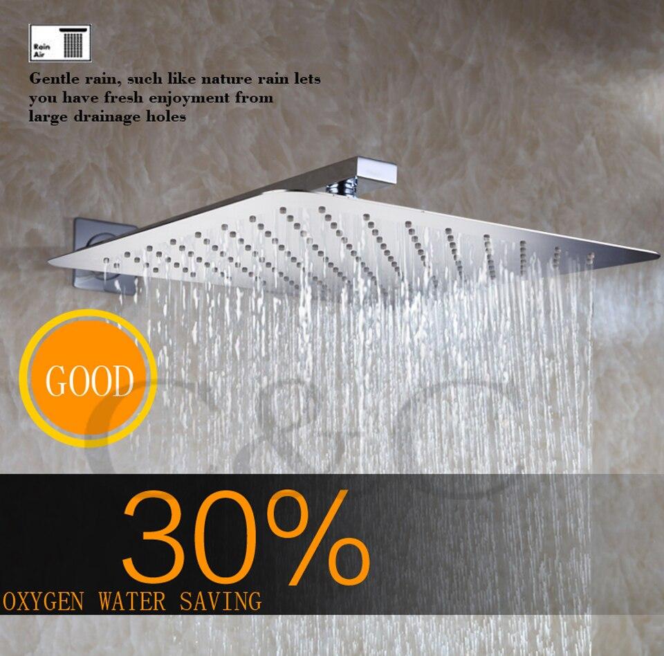 Zeitgenössische Stil Badezimmer Dusche Wasserhahn Set 40X40 CM Regen ...