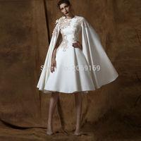 Arabic Dubai Graduation Dresses With Cloak Special 2019 Fashion Graduation Gowns Vintage O neck Beautiful Dress Graduation Short