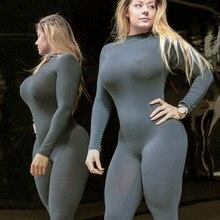 Хит, сексуальный костюм для подвижных игр, трико для фитнеса, йоги, комбинезоны, одежда для тренировок, спортивный костюм, цельный бесшовный комплект, спортивный костюм для женщин