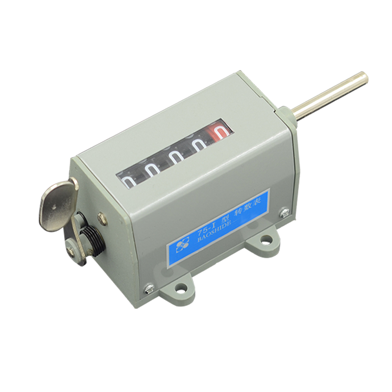 6mm Dia Shaft Clockwise Increase 5-Digit Rotation Rotary Counter
