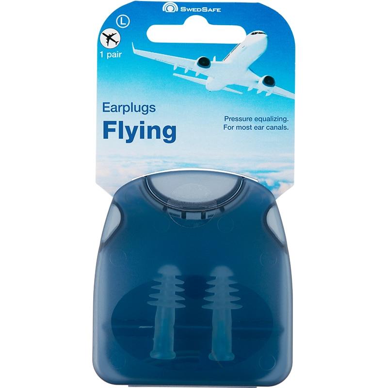 Swedsafe flying earplugs air plane pressure balance ear pain reduce noise gift