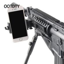 OOTDTY Arma Rifle Tripé de Câmera Tripé Adaptador de Montagem para Gopro Action Camera Fotografia Aérea de telefone