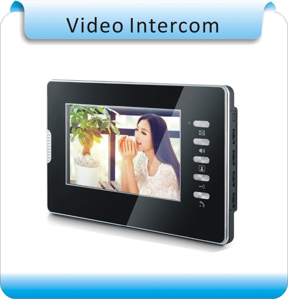"""Здесь можно купить   Exclusive starting 7 """" Video Door Phone / LCD Monitor Video DoorBell Rings CMOS Night Version Camera With Intercom System Строительство и Недвижимость"""