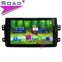 TOPNAVI Android 6 0 2G 32GB 9 Car PC Media Center Player For Suzuki SX4 Stereo
