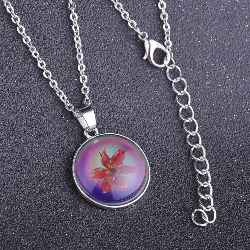 Visionmood eternal dried red star mood pendant necklace color change visionmood eternal dried red star mood pendant necklace color change for woman girl in pendant necklaces from jewelry accessories on aliexpress aloadofball Gallery