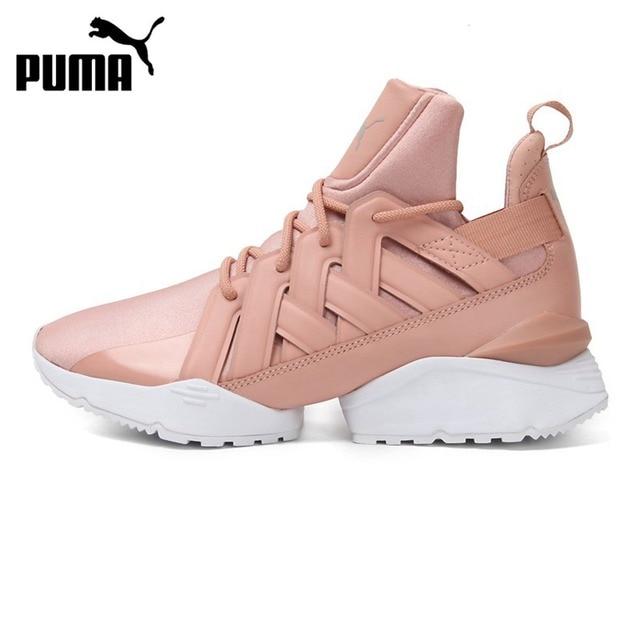 Original Nouvelle Arrivée 2018 PUMA Muse Echo Satin EP Femmes de Planche À  Roulettes Chaussures Sneakers