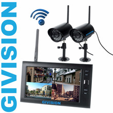 Cheaper 7 inch Digital 2.4G Wireless Camera Video Baby Monitors DVR home Security cameras System motion detection sd TF Card