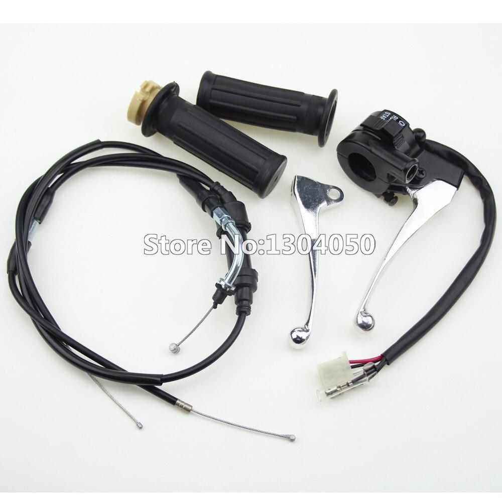 Переключатель блок тормозные рычаги ручки дроссельной кабель для Пи-Ви PW50 PY50