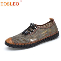 38 46 Men Casual Shoes Breathable Mesh Men Shoes Casual Handmade 2018 Men Summer Shoes Big Size