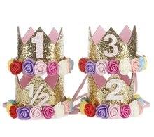 Girl Birthday Flower Party Crown