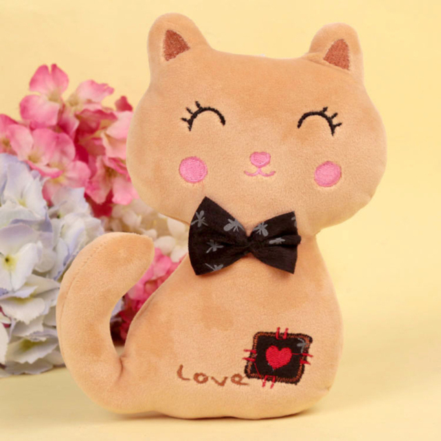 Cat Bunny Plush Doll Toys for Girl Cute Animal Cat Baby Kids Comfortable Soft Valentine's Day Sims Gift Toys