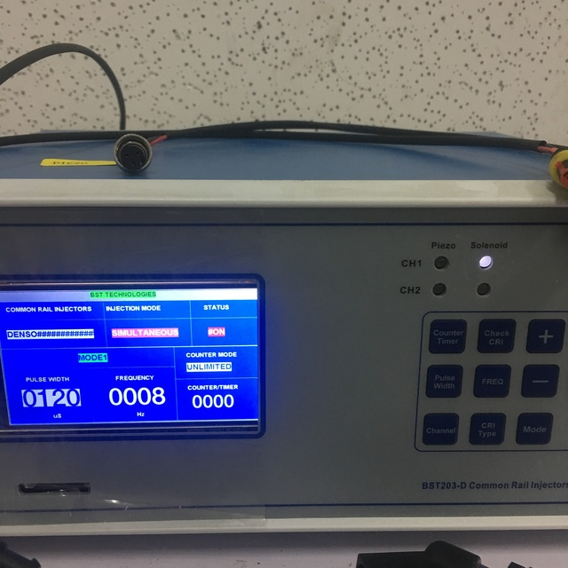 New Research 2 Channels Testing Together BST203-D piezo and electromagnetic common rail injector tester 1