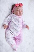 20″ High quality  doll reborn babies silicone vinyl dolls cloth body newborn baby girl alive dolls bebe bonecas kids xmas gift