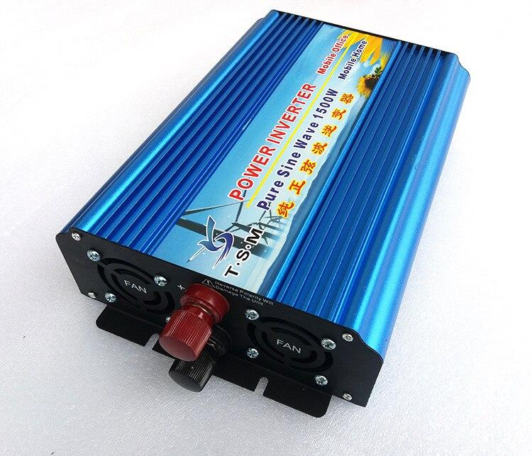 digital display 1500w peak power 3000w DC36V to AC220V Pure Sine Wave Inverter 1500w solar off grid pure sine wave power inverter dc24v to ac220v 50hz peak 3000w dual digital display
