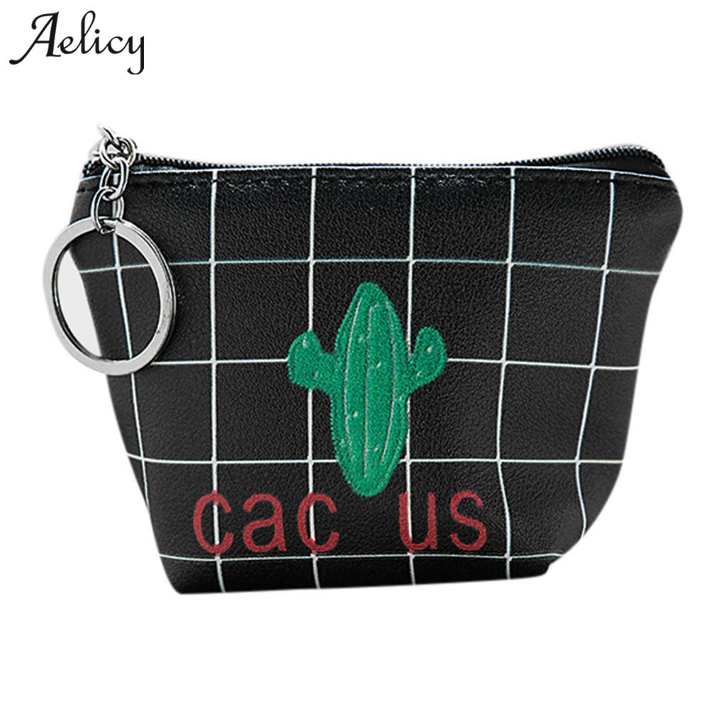 Aelicy Vintage Zipper Womens Short Wallet Women Clutch Small Coin Purse Female Money Coin Bag For Girl Gift Credit Card Holder