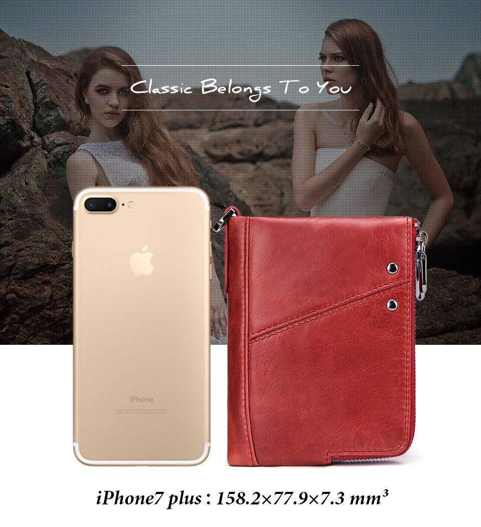 женщины бумажник; Основной Материал: Натуральная Кожа; Стиль: Стиль: Мода;