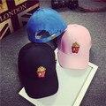 Corea papas fritas gorra de béisbol dom señora sombrero turismo de compras de moda salvaje tapa exterior anti social social club sombrero
