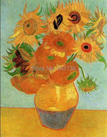 Classical Painting Sunflower Canvas Art By Van Gogh Reproduction Oil Painting Modern Decoration Gift For Friends