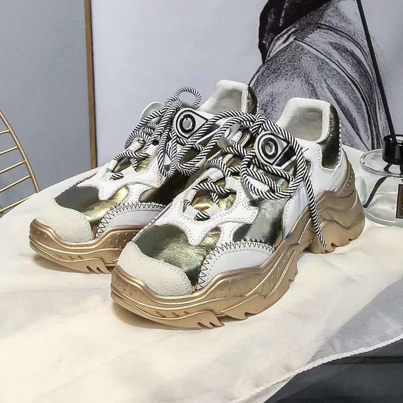 Luxury Brand Spring Fashion Women Casual Shoes Suede Leather Platform Shoes Women Sneakers Ladies White Trainers Chaussure Femme winter women casual shoes suede platform plus velvet shoes women keep warm sneakers ladies white trainers chaussure femme c340