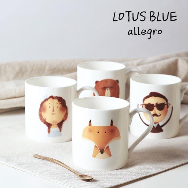 Buy Cute Bone China Coffee Cups Milk Tea