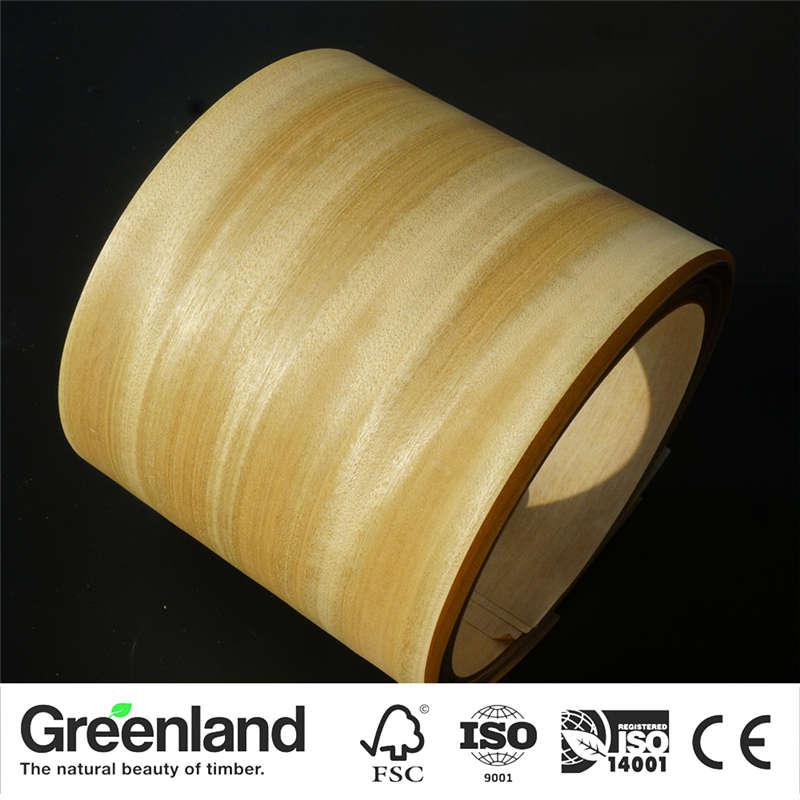 Chanpaka Wood Veneers DIY Furniture Natural Material Bedroom Chair Table Skin Size 250x20 Cm Table Veneer Flooring