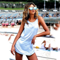 2016 New Fashion Women Sleeveless Summer Vest Tops Casual Tank Tops Backless