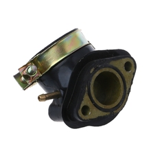 Intake Manifold Pipe Moped Scooter ATV Go Kart Engine Part For GY6 125cc 150cc glixal 26mm cvk carburetor carb with electric choke gy6 125cc 150cc scooter moped buggy 152qmi 157qmj atv go kart engine