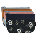 2017 New Travel Womens Bag Retro Floral Coin Purse Clutches Bag Female Key Card Pouch Money Coin Holder Wallet