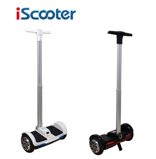 Бесплатная доставка iScooter 10 дюймов и 8 дюймов hoverboard Электрический Скейтборд Постоянный Смарт два колеса скутера с Ручкой Бар F1