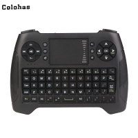 2.4Ghz Wireless Touchpad Air Mouse Game Type Mini Keyboard USB Receiver for Computer HTPC