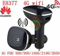 Desbloqueado CPE 4g router para coche huawei CarFi E8377 Hilink LTE Hotspot 4G LTE 12V wifi para coche Router huawei 4g lte router para coche