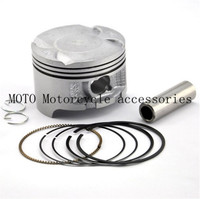 70MM Motorcycle Engine Accessories Cylinder Liner Piston Kit Pin Rings Set for Honda NX250 NX 250 AX 1 AX1 Motor Piston Assembly