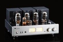 MUZISHARE Baru X7 KT88 Push-Pull Amplifier Tabung HI FI Exquis GZ34 Lampu Amp Terbaik dengan Phono dan Remote