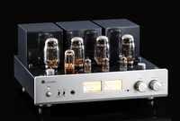 MUZISHARE Neue X7 KT88 Push-Pull rohr verstärker HIFI EXQUIS GZ34 Lampe Amp Besten Verkauf Mit Phono und Fernbedienung