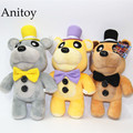 Five Nights at Freddy's Bear Freddy Brown Bear Plush Toys Soft Stuffed Animal Dolls Kids' Gift 30CM AP0150