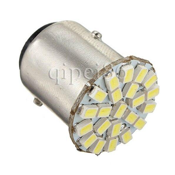 P21/5W 1157 7506 BAY15D 1206 SMD 22 LED Stop Tail Rear Turn Signal Brake Light Lamp Bulb