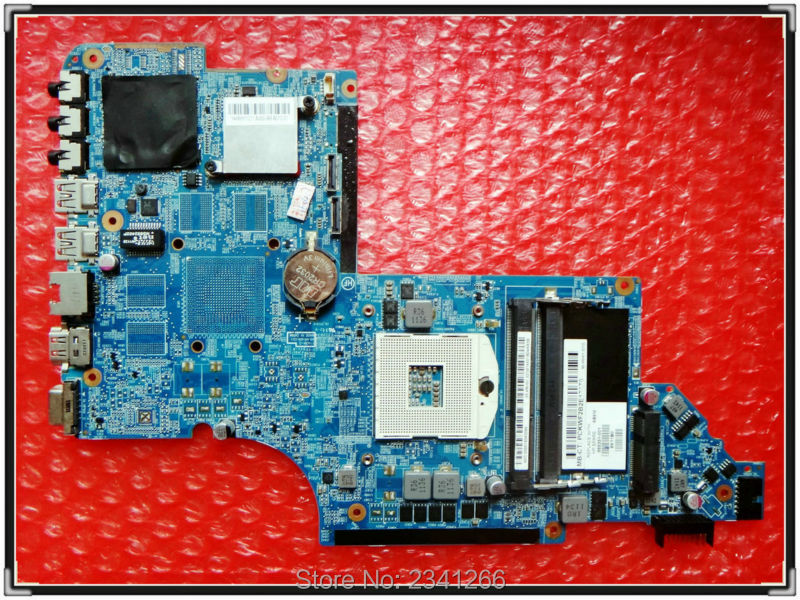 ФОТО 665351-001 for Hp pavilion DV6-6000 laptop motherboard  DV6T-6B00 NOTEBOOK DV6T-6C00 NOTEBOOK HM65 HD DDR3 100% tested