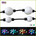 100pcs 35mm/50mm 12V WS2811 string module lights milky ball 360 degree emitting addressable pixel full color christmas lighting