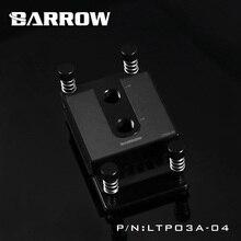 Barrow POM CPU waterblock 0 4MM microcutting micro waterway for AMD Ryzen AMD 1 2 3