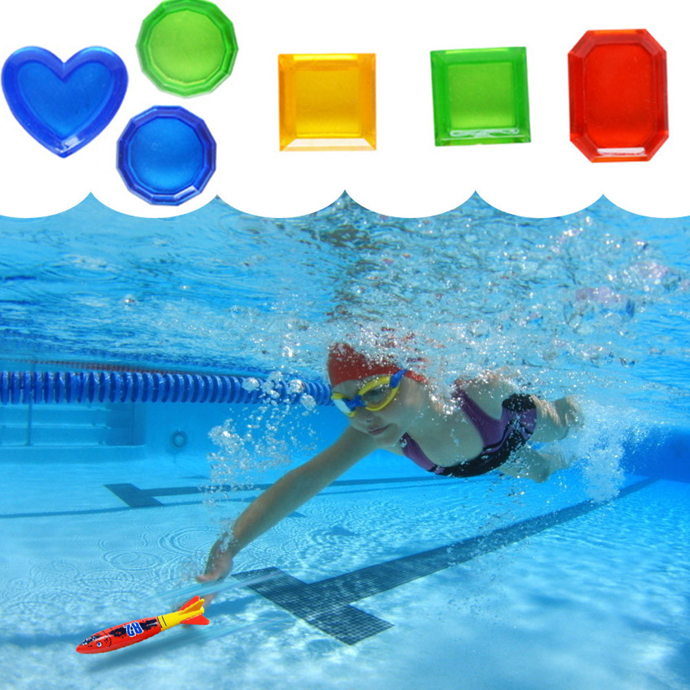 Huang Neeky #501 2019 New Funny Toy Diving Underwater Swimming Colorful Pool Sink Training Diving Game Toy Gifts Free Shipping
