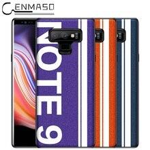 Для samsung примечание 9 чехол оригинальный спортивный уличная культура для samsung Galaxy Note 9 Высокое качество перламутровая кожа мягкая край чехол