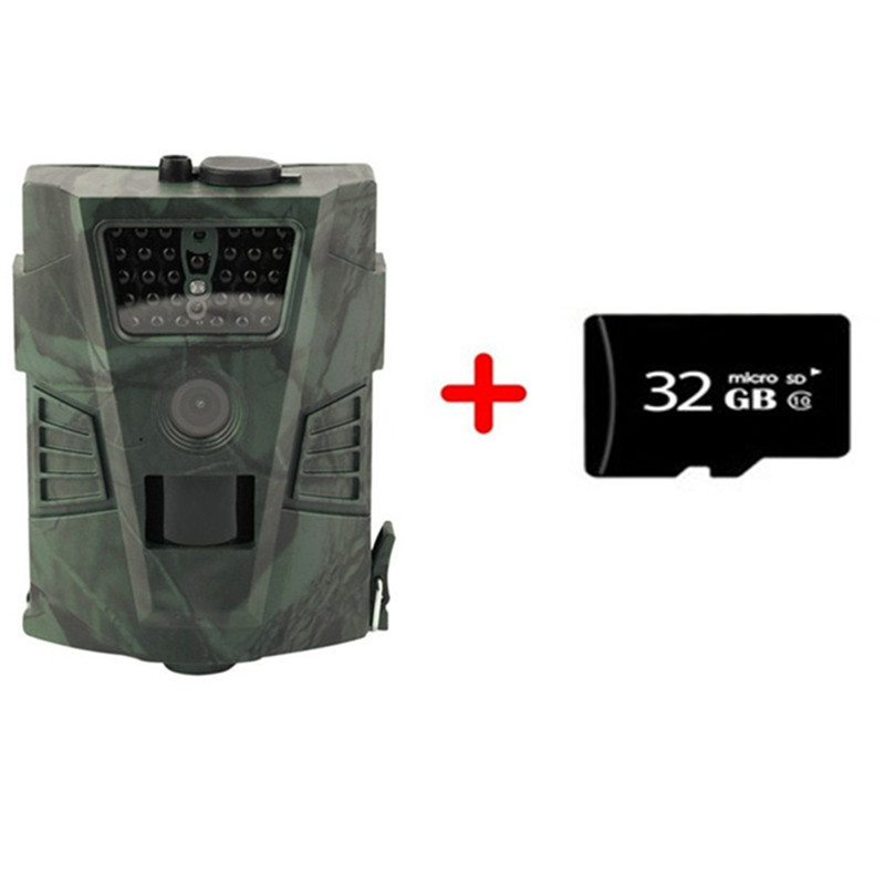 HT001 Hunting Camera Night Version Outdoor Wildlife Trail Ordinary Cameras photo Video traps Without LCD Wildlife Cameras 12MP ltl acorn 5210a scouting hunting camera photo traps ir wildlife trail surveillance 940nm low glow 12mp