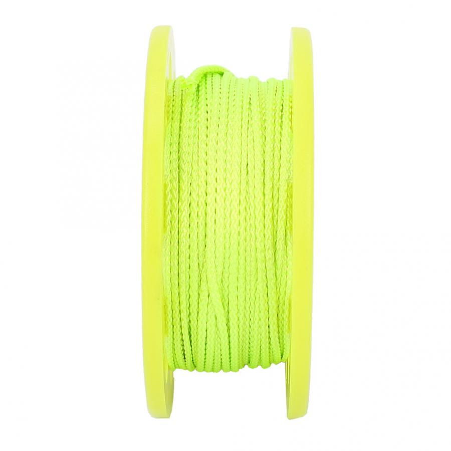 Scuba Diving Compact Finger Spool 30M Guide Line Reel Lightweight Plastic Snorkeling Flared Scuba Diving Finger Spool Coil Finger Spool