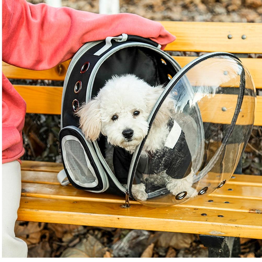 Сумка через плечо для домашних животных легкая воздухопроницаемая сумка для домашних животных с космическим дизайном капсулы для котенка ...
