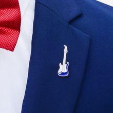 Броши в виде гитары savoyshi для мужчин и женщин Значки костюма
