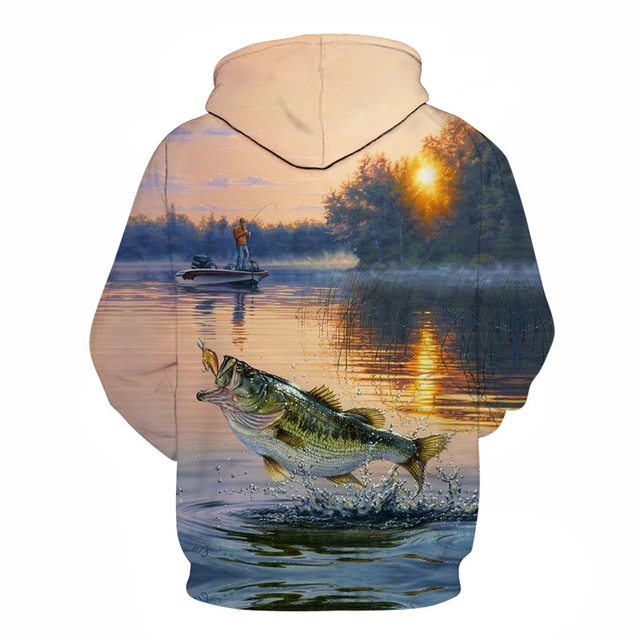 3D Tropical Fish Funny Hoodies For Fishinger Fisherman Men Women Long Sleeve Hoody Sweatshirts Hooded Streetwear Hip Hop Jackets 1