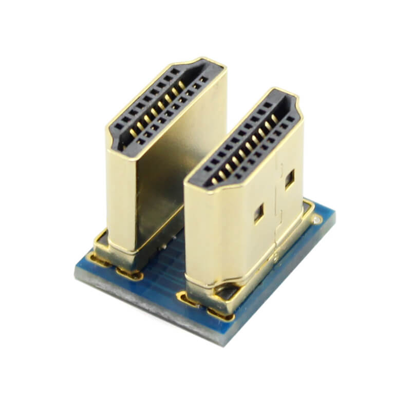 Elecrow USB HDMI Connector For 5 Inch HDMI Raspberry Pi Screen Display DIY HDMI USB Connector Kit