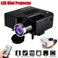 UNIC UC28 + Portatile Proiettore LED Cinema Theater Mini Proiettore USB/SD/AV Ingresso Mini Intrattenimento Proiettore 400 lumen