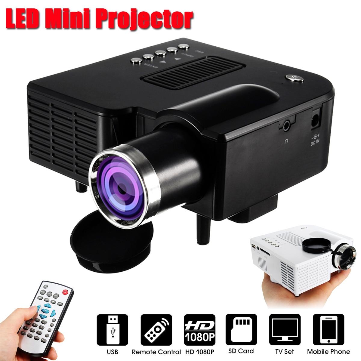 Unic uc28 + portátil led projetor cinema teatro mini projetor usb/sd/av entrada mini entretenimento projetor 400 lumens